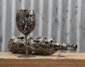 recycled-metal-sculptures-key-coin-michael-moerkey-1-e1431448955618